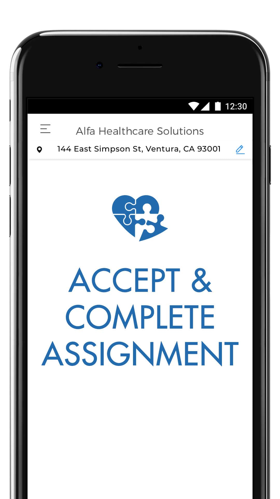 Accept and Complete Assignment