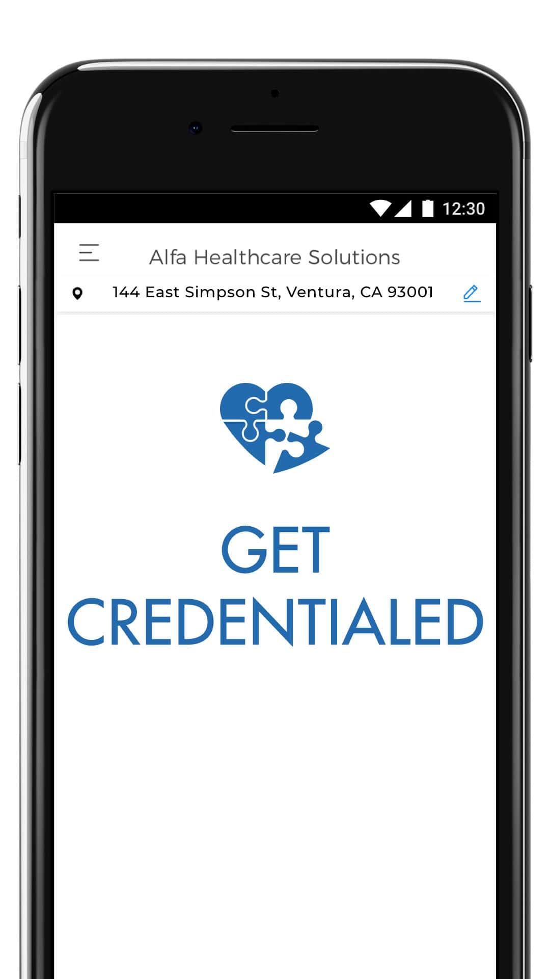 Get Credentialed