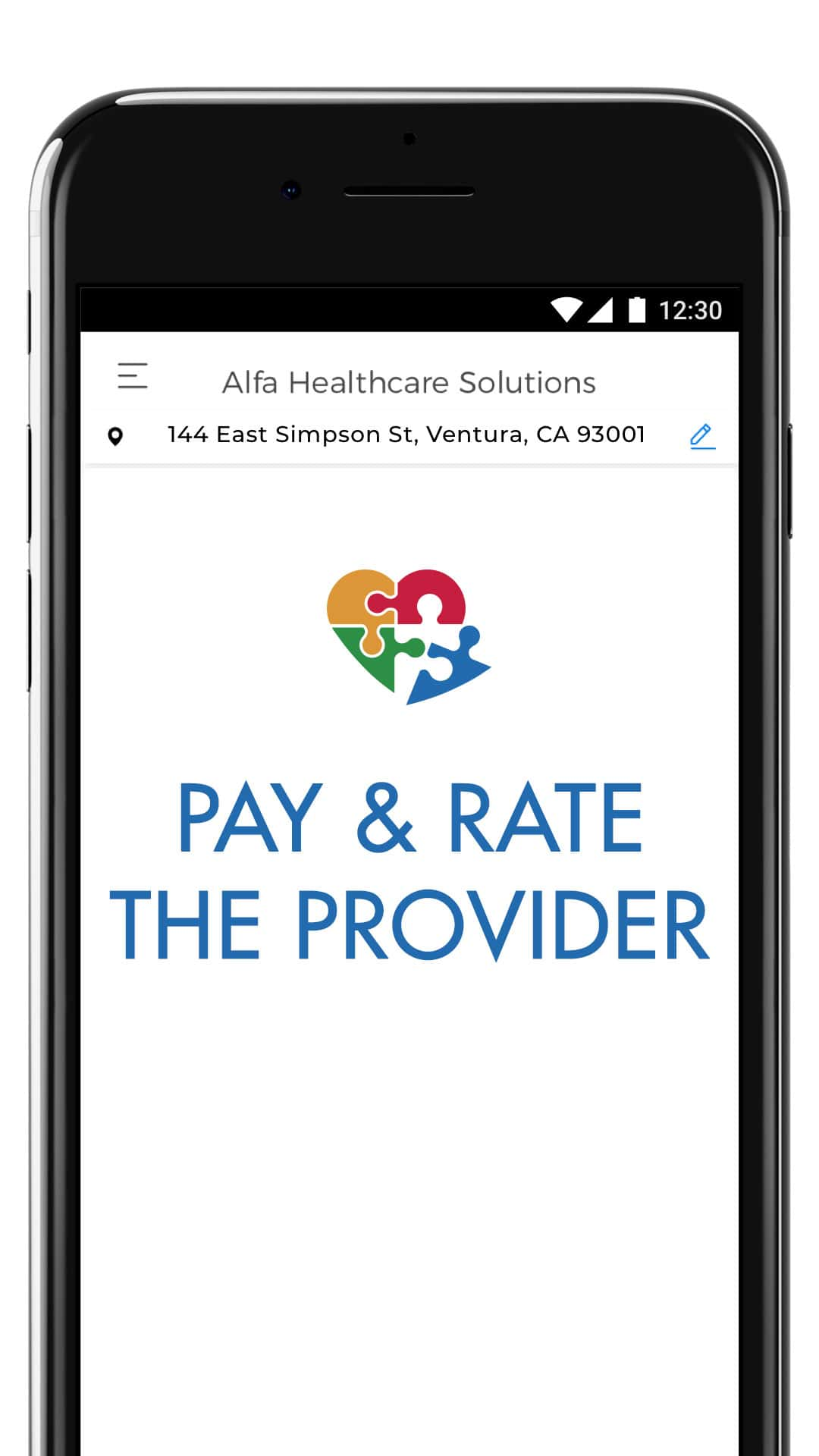 Signup - Pay and Rate the Provider