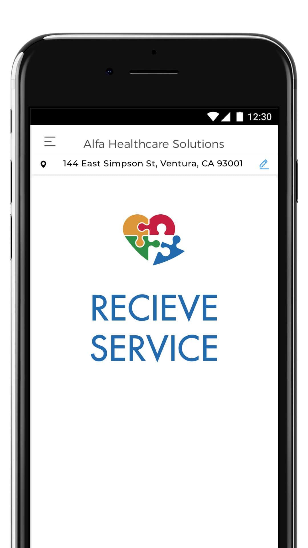 Signup - Recieve Service