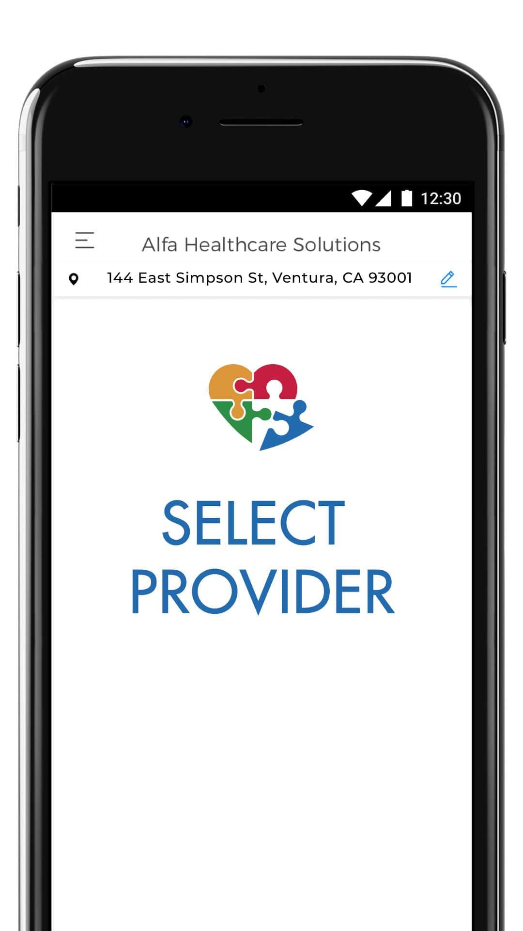 Signup - Select Provider